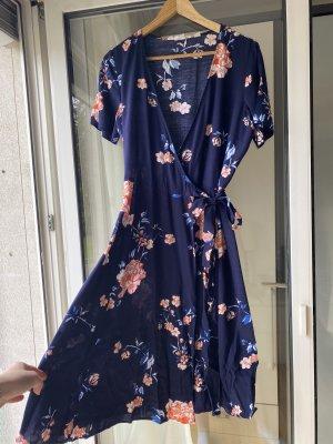 H&M Kopertowa sukienka Wielokolorowy