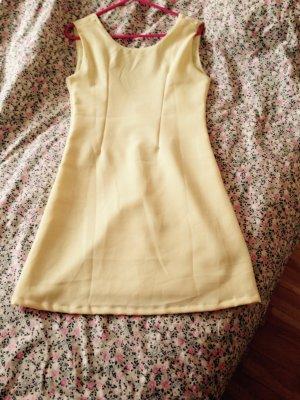 Kleid gelb 34/xs von Kling