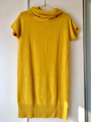 Kleid gelb Strick Kurzarm wie neu Größe 36 38