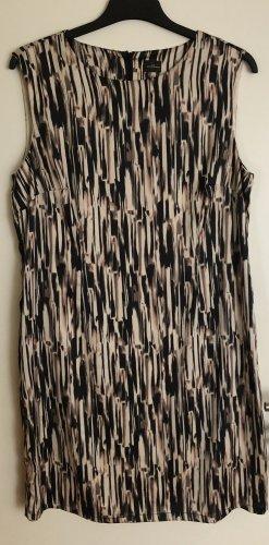 C&A Sukienka z krótkim rękawem czarny-kremowy