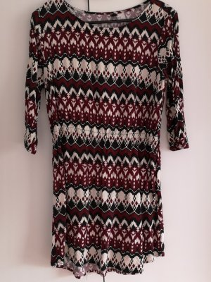 Cut Out Dress multicolored