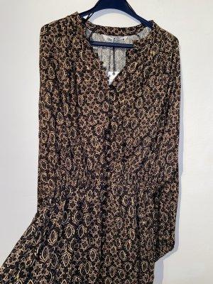 Kleid gemustert Zara