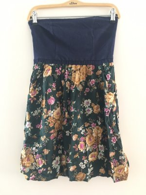 Glamorous Bandeau Dress multicolored
