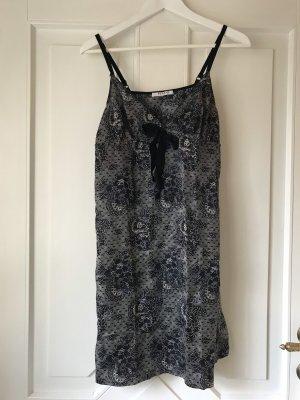 Kleid Globus Essentials s 36/38 Negligee Nachthemd Unterkleid Seide Baumwolle