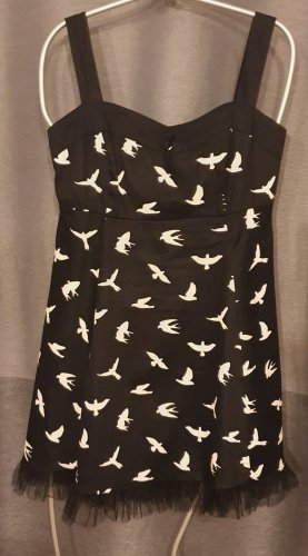 Kleid - Gothic - Lolita - mit dem Vogel-Muster