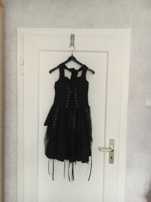 H&R London Robe dos-nu noir