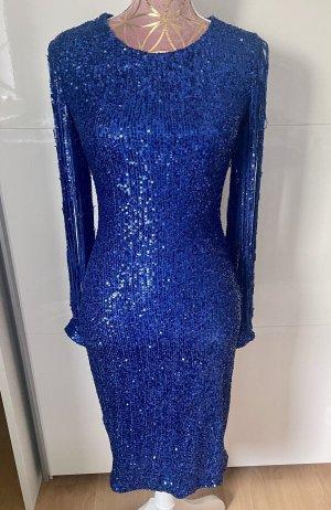 Sequin Dress blue
