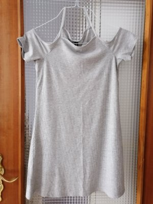 H&M Divided Off-The-Shoulder Dress light grey