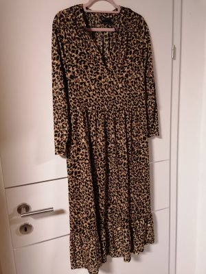 ASOS DESIGN Midi Dress black-brown