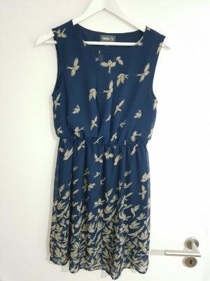 Apricot Summer Dress blue-dark blue