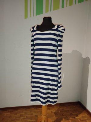 Kleid, Gr. 36, Bandolera, gestreift, Langarmkleid, Mini