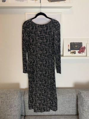 Kleid Gr. 36 Daniel Hechter Businesskleid schwarz braun beige Gr. S