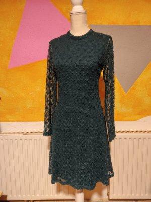 Kleid, Gr. 36, Street One, Langarmkleid, Mini,