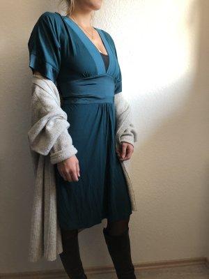 H&M Robe tunique bleu cadet