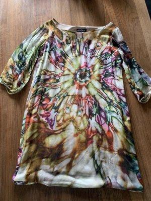 Ana Alcazar Robe chiffon multicolore