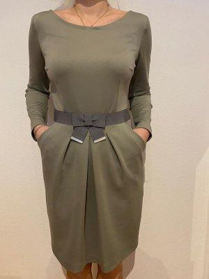 Alba Moda Robe à manches longues gris