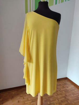No-Na One Shoulder Dress yellow
