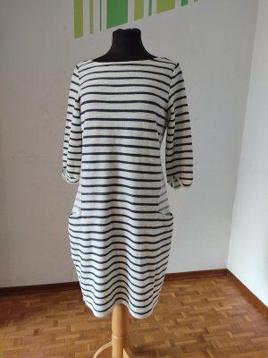 Kleid, Gr. 38, S. Oliver, 3/4 Ärmel, Langarm Kleid, gestreift