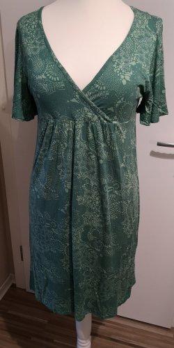 Bonaparte Midi Dress sage green-lime-green
