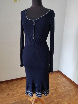 Kleid, Gr. 40, Bandolera, Langarmkleid, Strickkleid