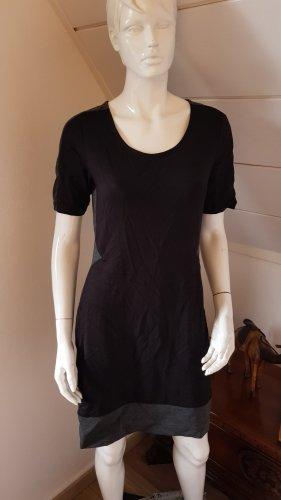 Gina Shortsleeve Dress black-grey