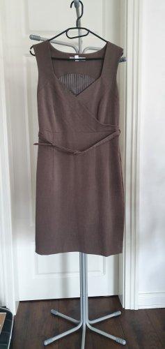 Ashley Brooke Sheath Dress grey brown