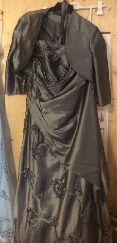 C&A Robe de cocktail gris-argenté