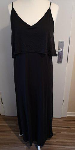 H&M Vestido tipo overol negro