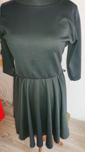 krisp Sukienka ze stretchu czarny