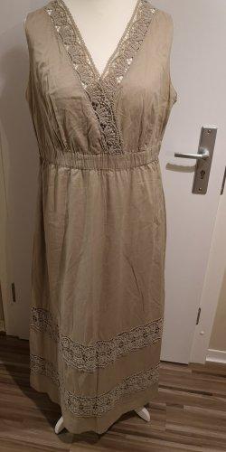 C&A Yessica Maxi Dress grey brown