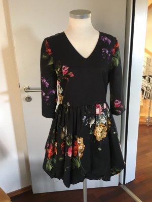 Tara jarmon vestido de globo multicolor Algodón