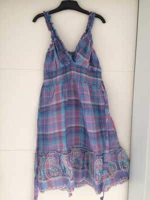 Kleid Gr. L, blau/pink *NEU* DEPT
