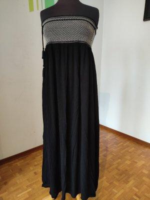 Kleid, Gr. L, Trafaluc by Zara, Trägerloses Kleid, Maxikleid