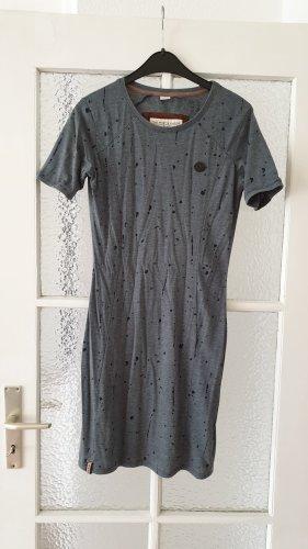 Naketano Vestido de tela de sudadera gris