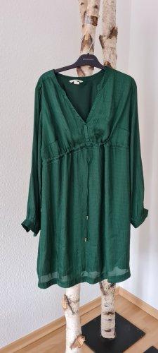 Kleid gr. M in dunkel grün
