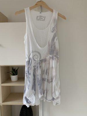 CO2 Summer Dress white-light grey