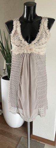 Kleid Gr. S -Beige von Legende-Stoffmix