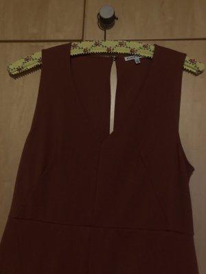Black Swan Robe courte brun-cognac