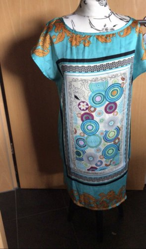 Graffith Kaftan turkusowy-baby blue