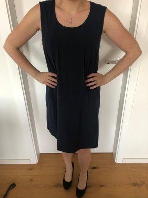 Kleid grau blau
