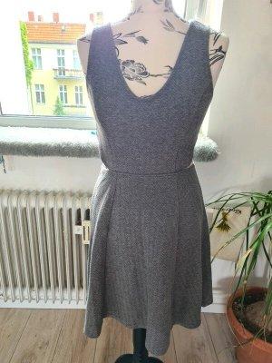 Kleid, grau, cut-outs, S/M