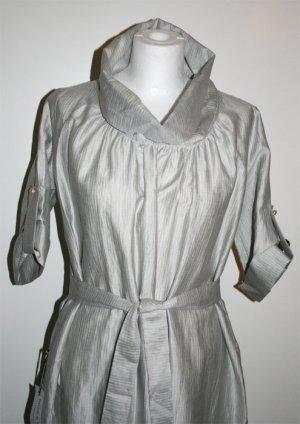 Kleid Grau, Designerstück, Gr. S, NEU mit Etikett