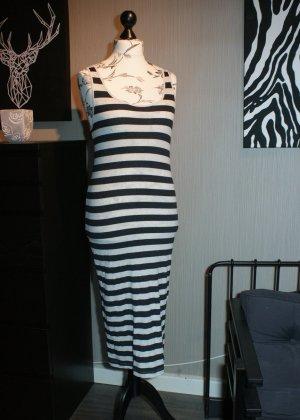 Maxi Dress black-grey