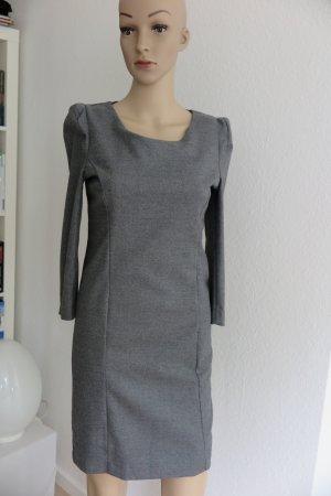 Kleid , grau wollmix