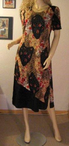 Kleid Größe 20 K40 Doublelayer Kurze Ärmel