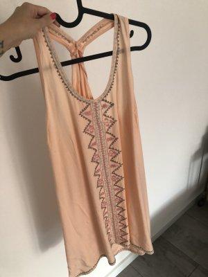 Robe de plage abricot