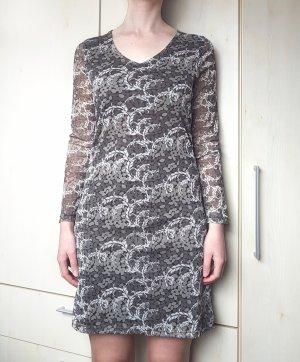 Kleid Grün Khaki geblümt Gina Gr. 36/ 38