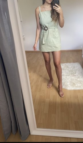 Forever 21 Cargo Dress green grey-khaki