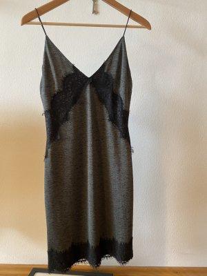 Kleid, grün/schwarz