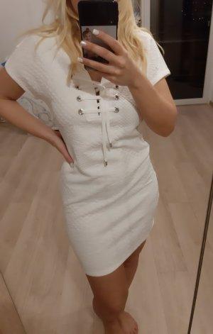 Kleid Guess weiß Schnürung